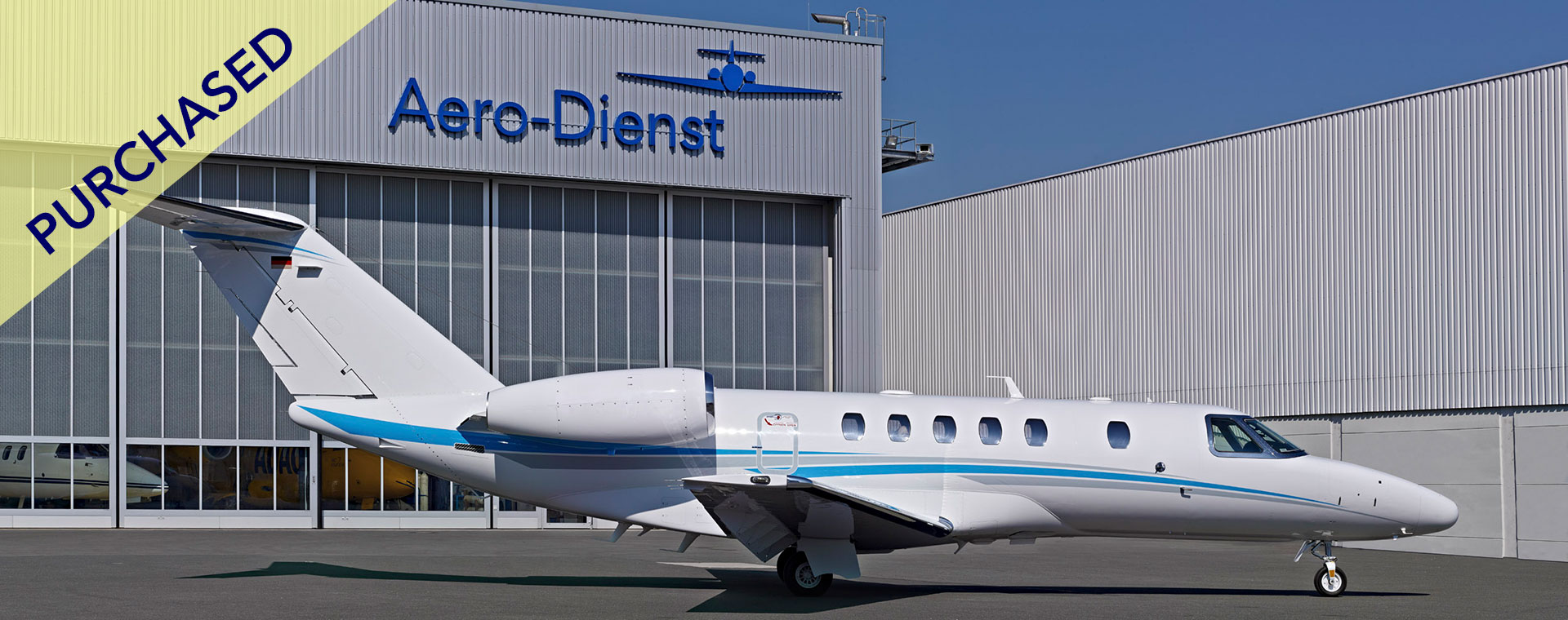 Aero-Dienst Cessna Citation CJ4 purchased