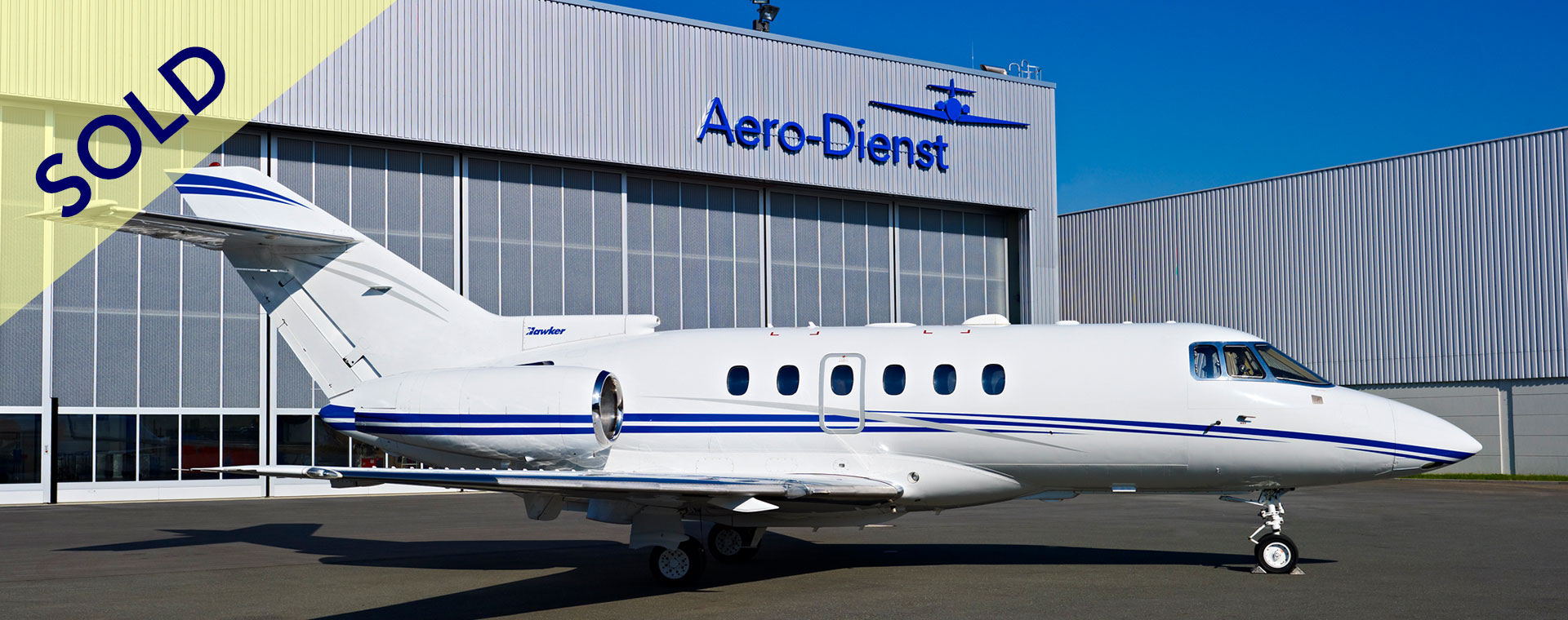 Aero-Dienst Hawker 800XP sold