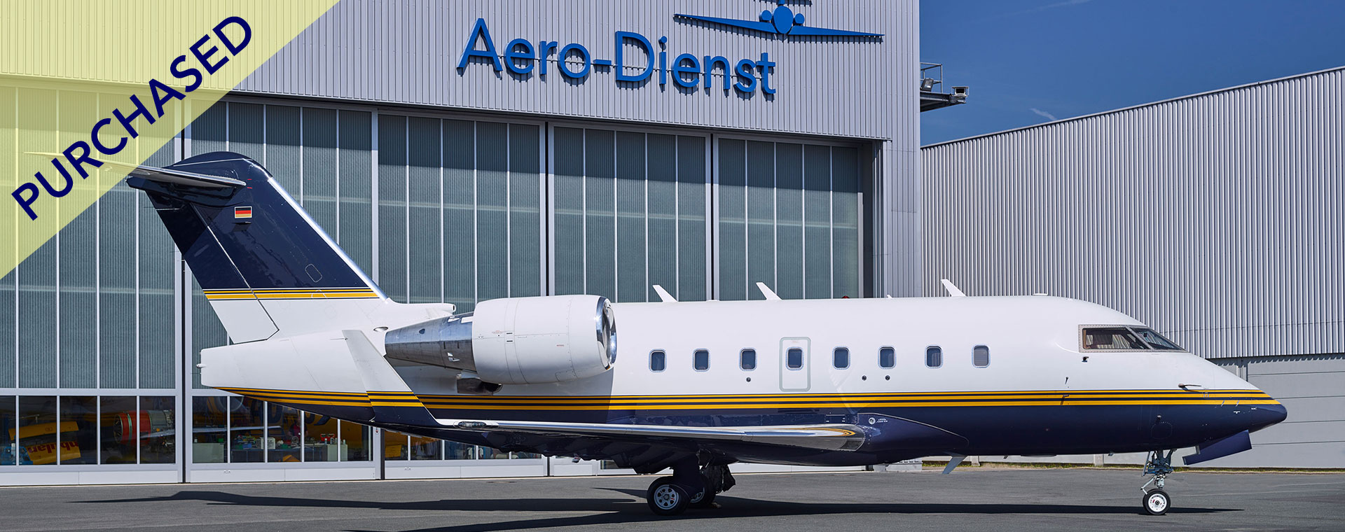 Aero-Dienst Acquisitions Challenger 604