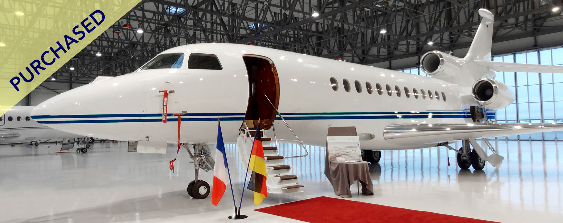 Aero-Dienst - Aircraft Sales - Falcon 7X purchased