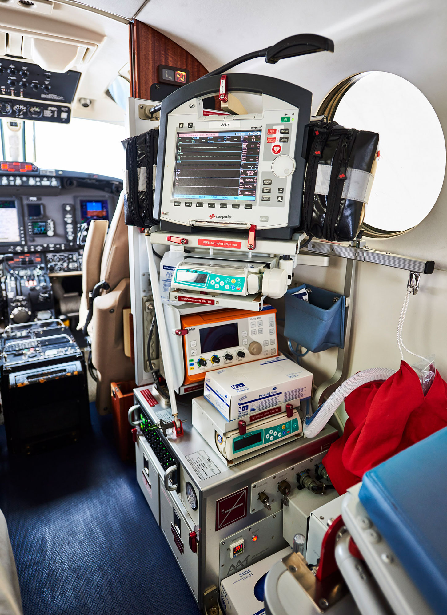 For sale: King Air FL-504 Ambulance