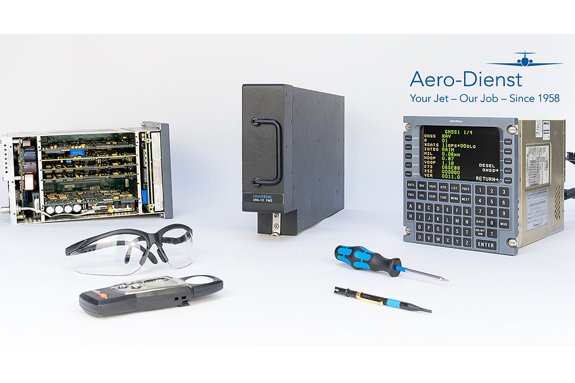 Aero-Dienst Universal FMS service and repair in Landsberg am Lech, Germany