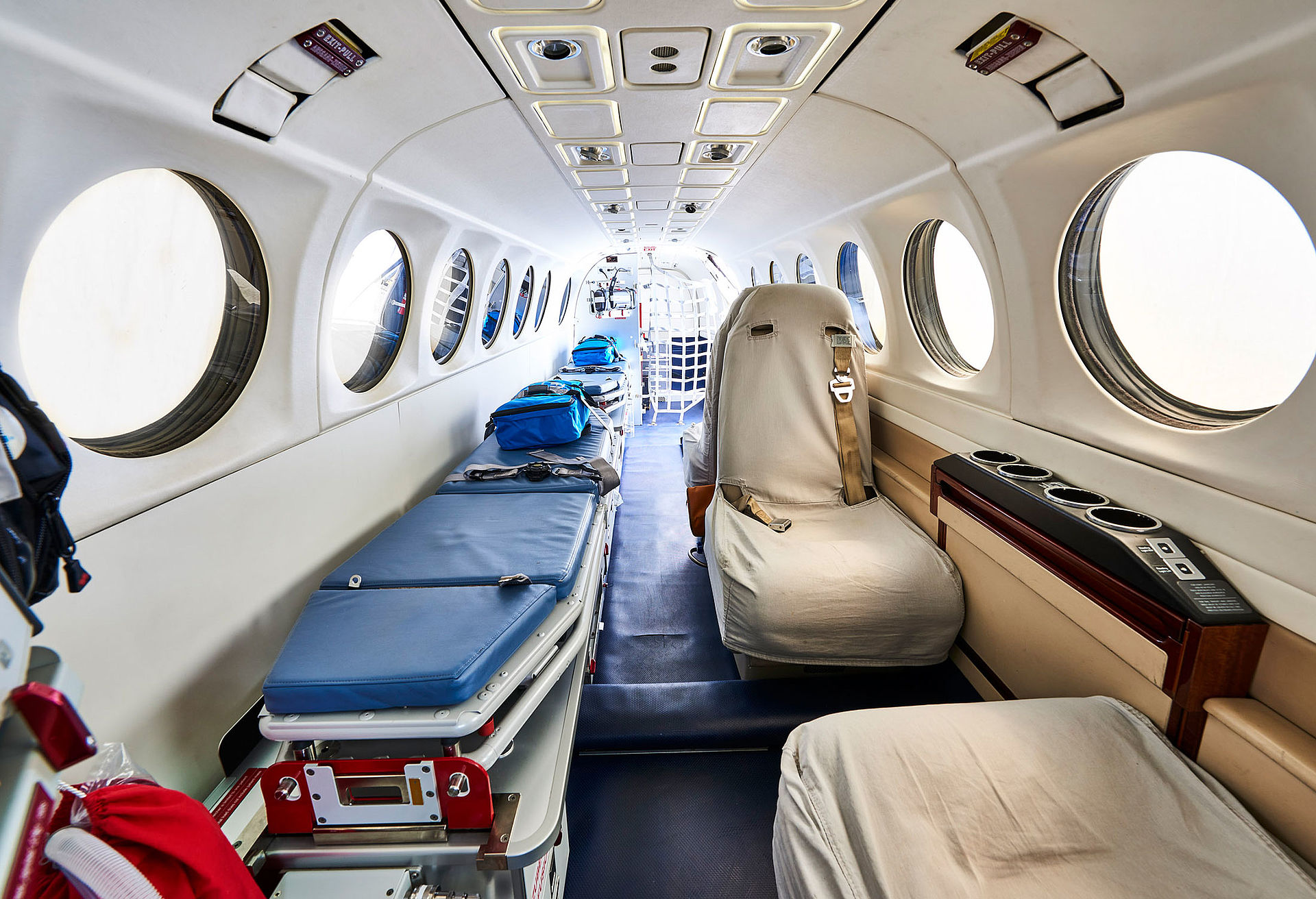 For sale: King Air FL-504 Ambulance aftview
